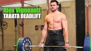 "Alex Vigneault ""Tabata Deadlift"" & CrossFit Interview"