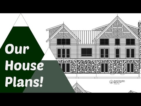 House Update: The Plans for Building our Colorado Timber Frame