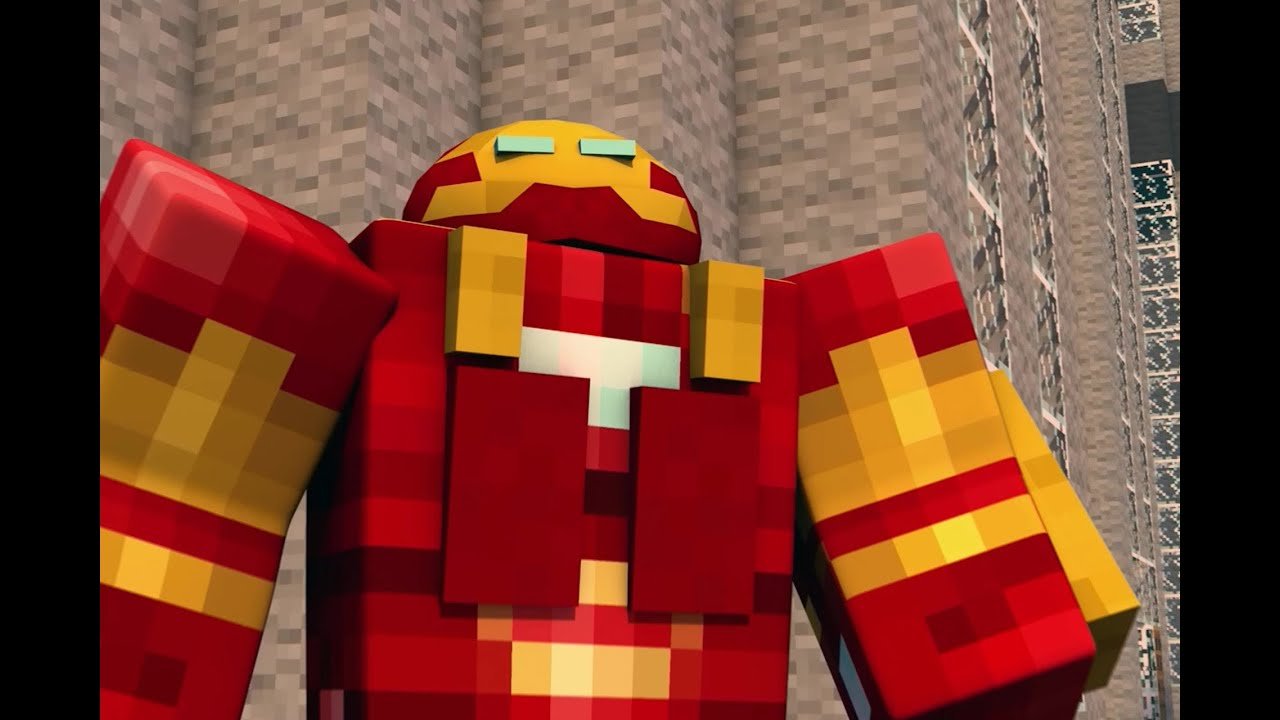 Marvels Avengers Age of Ultron Minecraft Animation