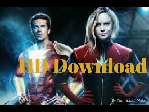 Download How to download Shazam movie full HD- Hindi drubbed