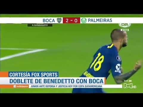 Boca Juniors vs Palmeiras: victoria 'xeneize' 2-0 en el partido de ida - semifinal Copa Libertadores