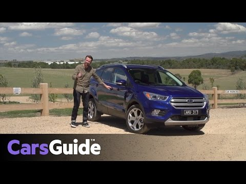 Ford Escape 2017 review | first drive video