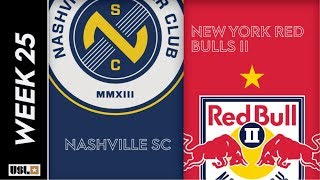 Nashville SC vs. New York Red Bulls II: August 21st, 2019