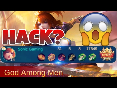 Mobile legends HACKED GAMEPLAY / How to play Fanny +tips+Build