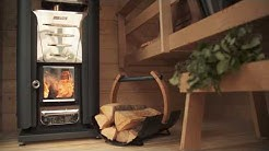 Harvia Solide Compact Outdoor Sauna