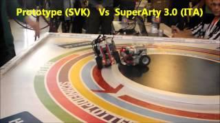 Robotchallenge 2015 LEGO Sumo Finals