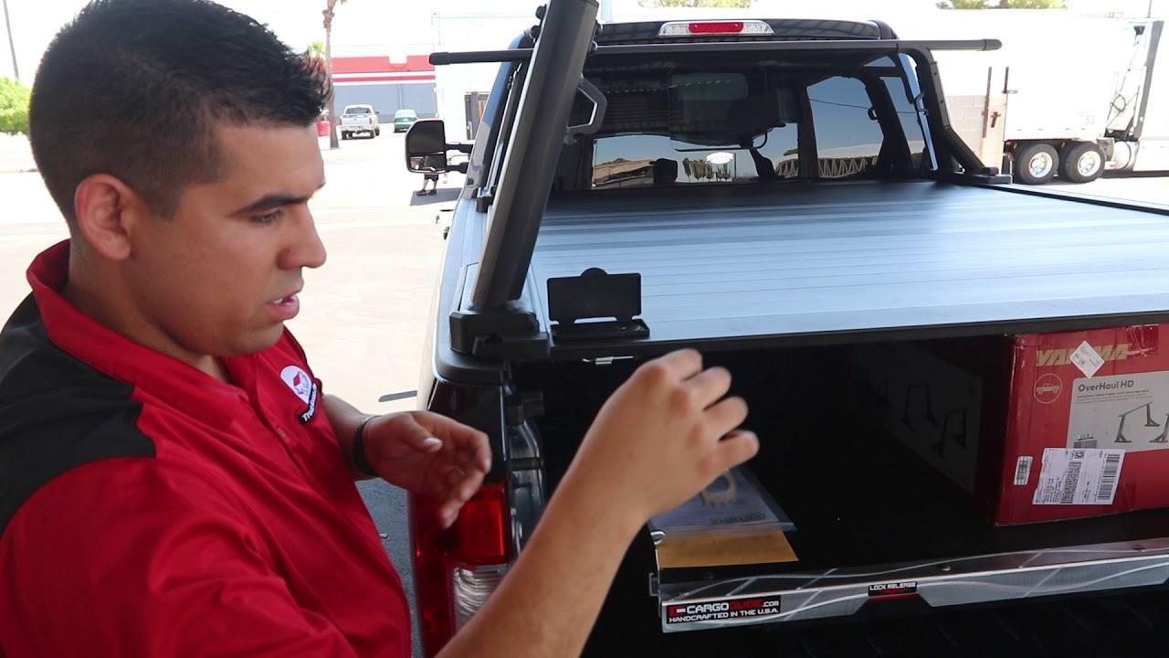 Retrax Xr Truck Bed Cover Yakima Overhaul Rack Cargo Glide