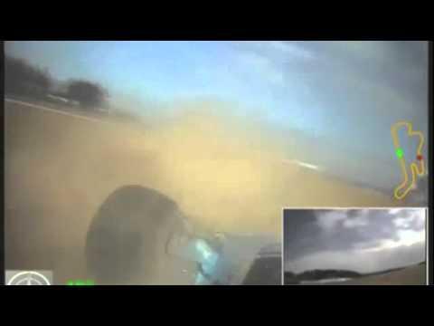 F5000 Lola Phillip Island 2014 crash