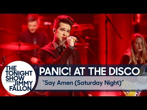Panic! At The Disco: Say Amen (Saturday Night)