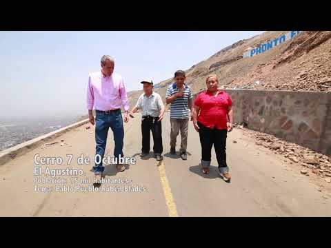 GIOVANNA VIZCARRA JUNTO A LUIS ENRIQUE GÁLVEZ EN EL AGUSTINO