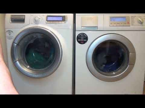 Wash Race No.8 - AEG lavamat L88810 vs Electrolux Time Manager Cotton standard Eco 60'c (Full cycle)