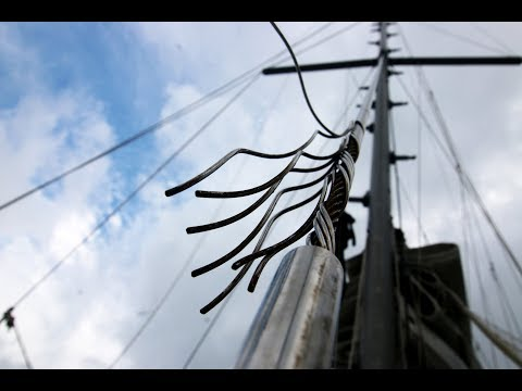 DYNEEMA: Installing Synthetic Standing Rigging On A Sailboat (Rigging Pt. II)
