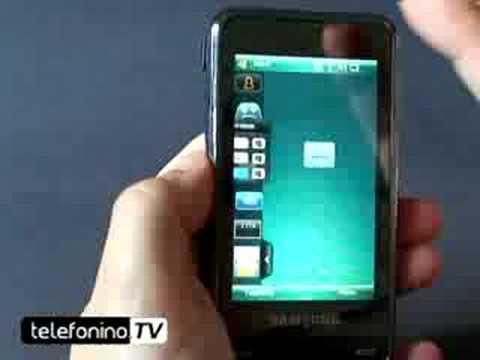 Samsung i900 Omnia videoreview da Telefonino.net