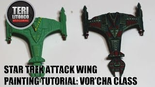 Star Trek Attack Wing: How to Paint a Vor