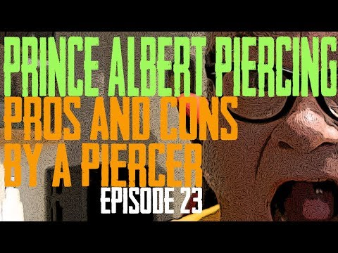 Prince Albert Piercing Pros & Cons by a Piercer EP 23