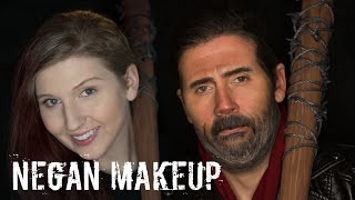 Video Negan Makeup Transformation [The Walking Dead Cosplay Tutorial | 31 Rays of Halloween] download MP3, 3GP, MP4, WEBM, AVI, FLV Maret 2017