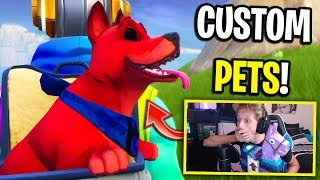 This CHEATER gave me CUSTOM PETS in Fortnite... (Season 6 Update)