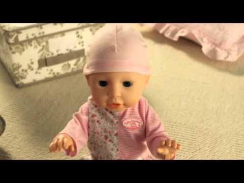 Видео инструкция к кукле Беби Анабель с мимикой. - YouTube