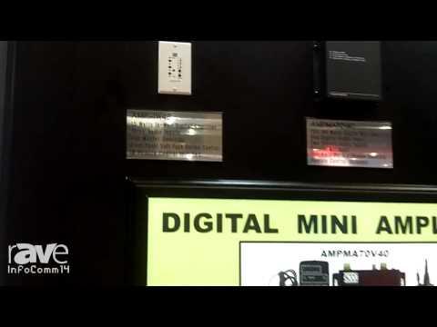 InfoComm 2014: OWI Talks About its AMP-IW4s In-Wall Digital Amplifier