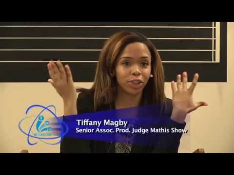 Tiffany Magby - Judge Mathis Show at IL Center for Broadcasting