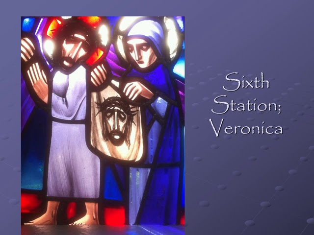 Stations of the CrosS; with reflections