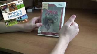 The Legend of Zelda Twilight Princess Nintendo Select Unboxing