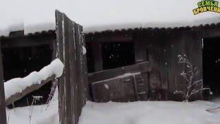 Семья Бровченко. Мини-обзор нового дома и нашего участка 50га + природа Сибири. (12.15г.)