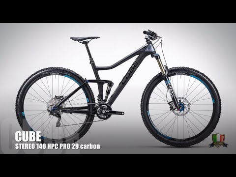 cbb62027fbe Video test - MTB Cube STEREO 140 HPC PRO 29 CARBON - YouTube