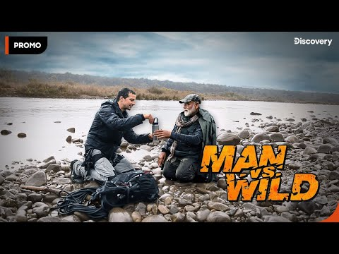Man VS Wild with Bear Grylls and PM Modi | Promo | Discovery