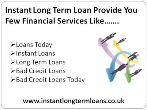 Instant Long Term Loans- Money With Easy Online Process With Long Repayment Terms