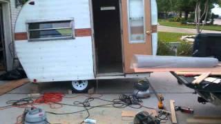 Vintage Camper Restoration.wmv