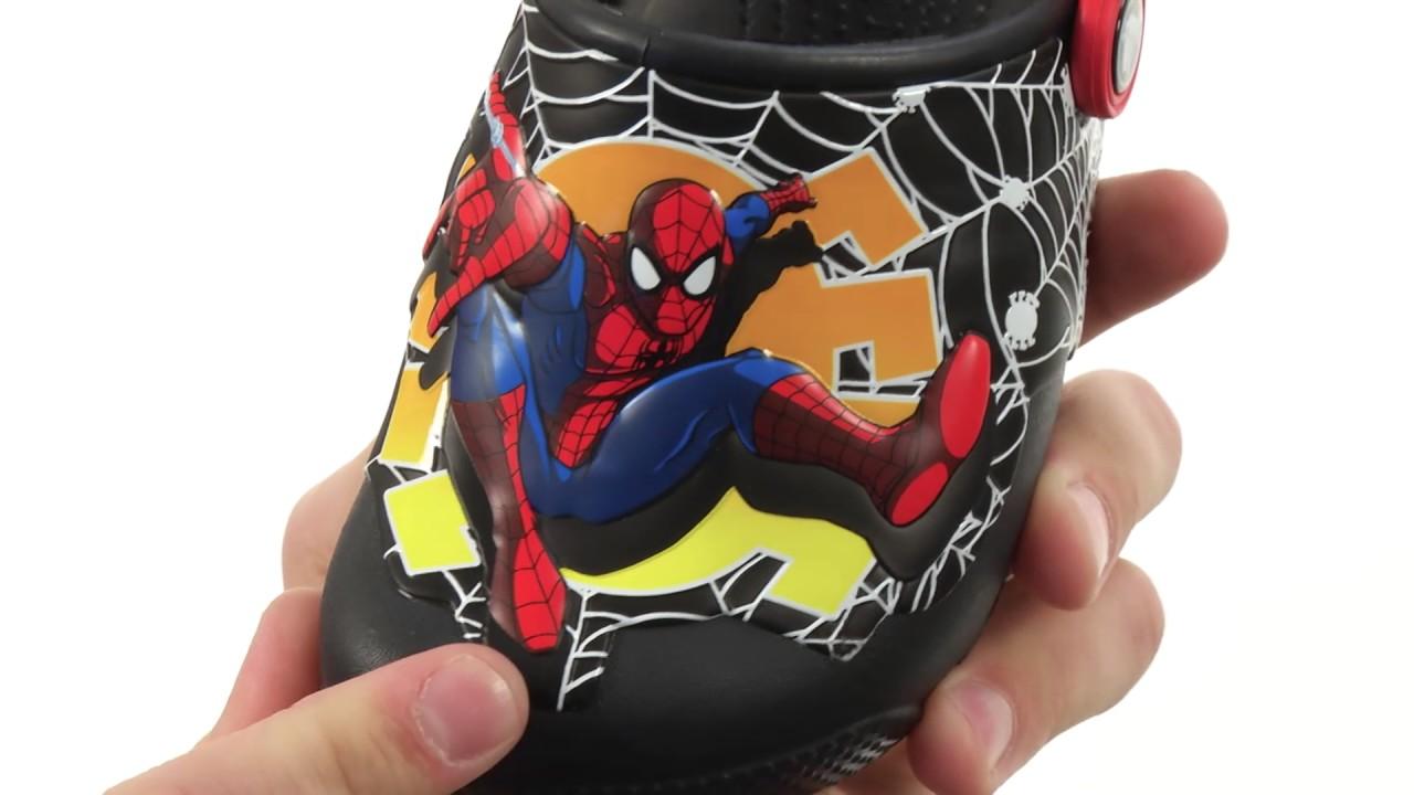 6b5517d3ee90 Crocs Kids CrocsFunLab Lights Spiderman (Toddler Little Kid) SKU 8808254