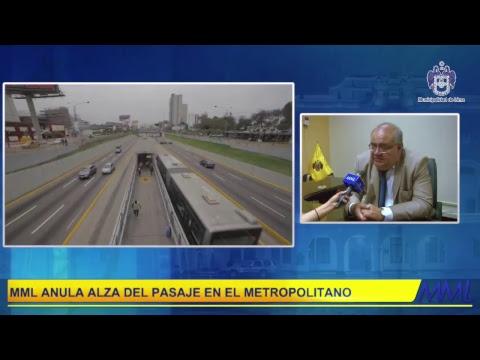 #EnVivo: Tras medida cautelar, MML logra reducción de los pasajes del @Metropolitano.