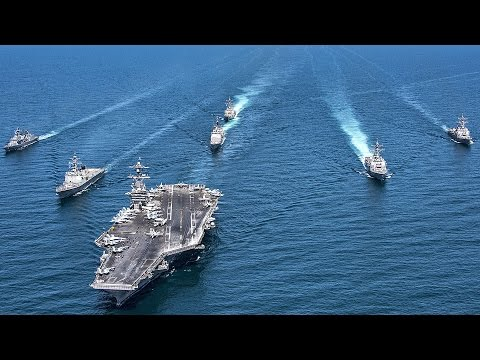 Strong Message To North Korea: US Aircraft Carrier USS Carl Vinson Drills With S. Korean Navy