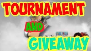 TOURNAMENT + DF GIVEAWAY - ONE PIECE BIZARRE ADVENTURES ROBLOX