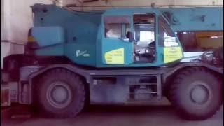 Краткий обзор крана KOBELCO RK 250-3/Overview of crane KOBELCO RK 250-3(Кран Kobelco RK 250-3 1996 г. выпуска , грузоподъёмностью 25 тонн. Работаю на нём с 2006 года., 2016-06-25T06:52:37.000Z)