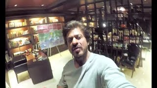 OMG!! Shahrukh Khan Showing His House Mannat From Inside | MUST WATCH