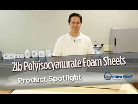 2 Lb. Polyisocyanurate Foam Sheets