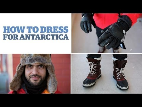 How To Dress For Antarctica