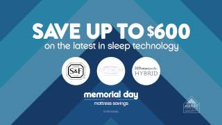Ashley Furniture Homestore's Memorial Day Mega Mattress Sales Event