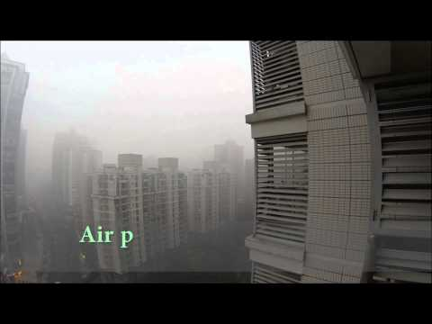 Shanghai air pollution (HD)