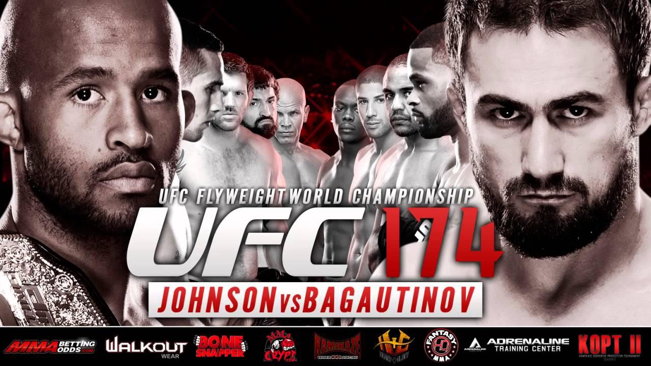UFC 174 Johnson vs Bagautinov ...