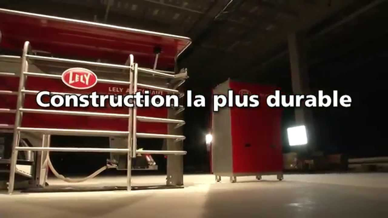 Lely Astronaut A4 - Milking robot highlights (French)