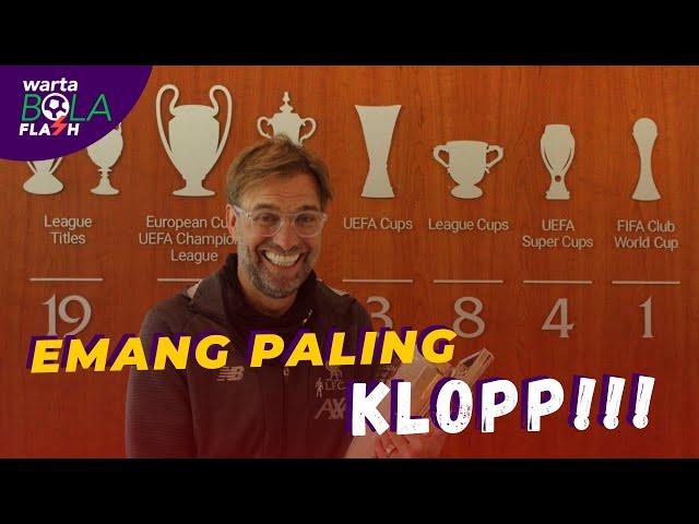 Jurgen Klopp Pelatih Terbaik Liga Inggris 2020 😘 Sergio Ramos Ajak Mc Gregor Latihan Sepakabola 🔥