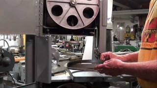 Machine Shop Tips #44 Part 5 Vertical Bandsaw Tubalcain