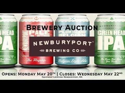 Brewery Auction - Newburyport Brewing Company