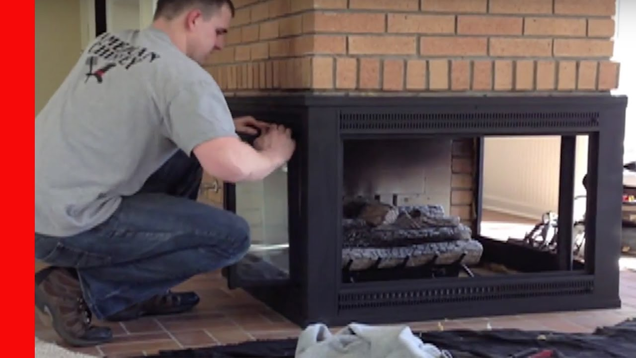 Repainting A 3 Sided Fireplace