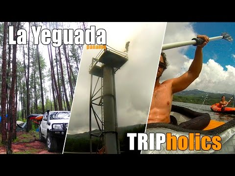 TRIPholics - La Yeguada, Panama. Camping, kayaks, jumps, 4x4 and friends