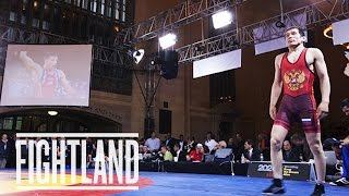 Competing To Save Olympic Wrestling: Rumble On The Rails In Grand Central Terminal