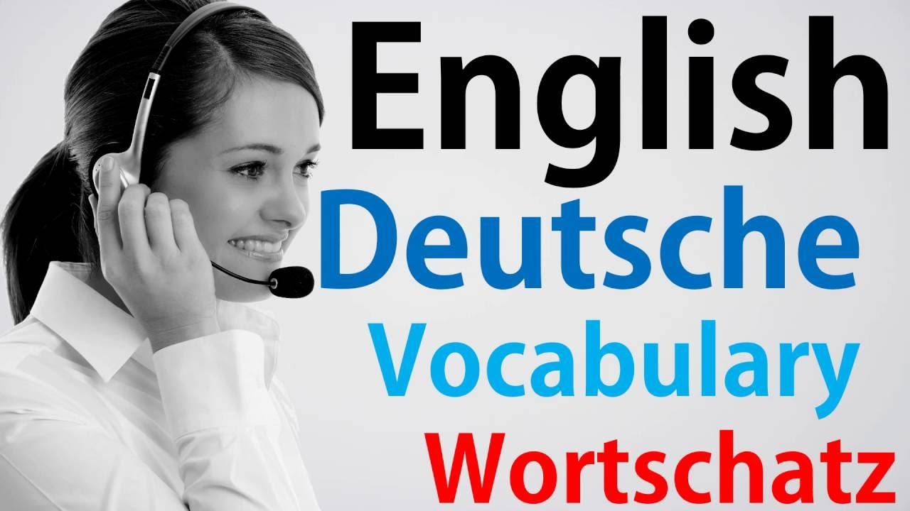 Video47 Deutsch Englisch Wortschatz übersetzung German English